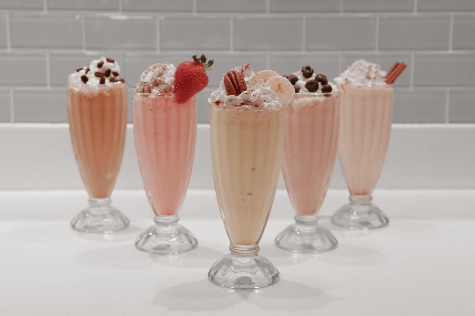 Milkshake atau Ice Blend