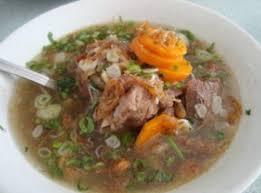 Sop Sayur Daging Sapi Dan Tetelan