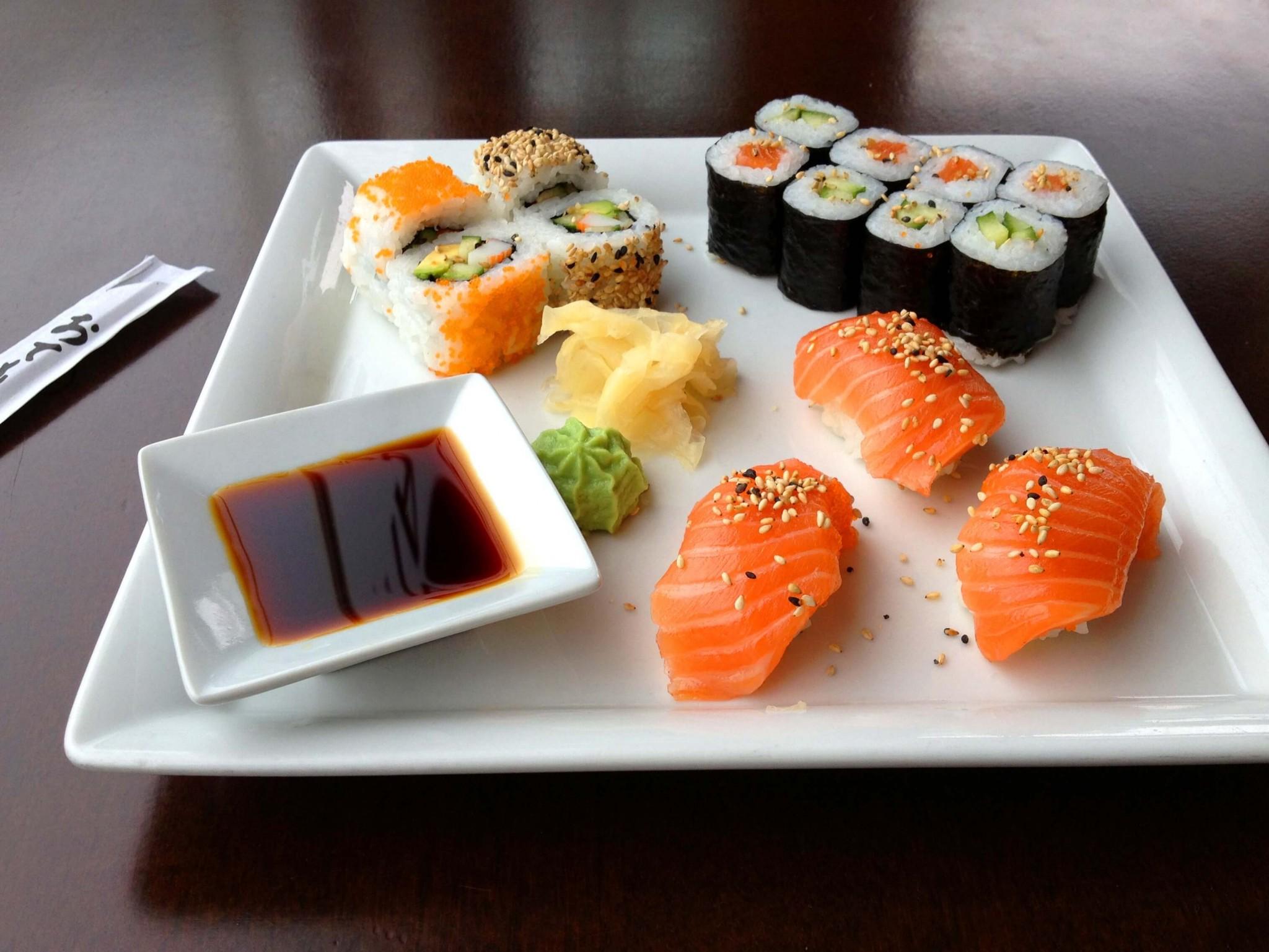 cara bikin nasi sushi