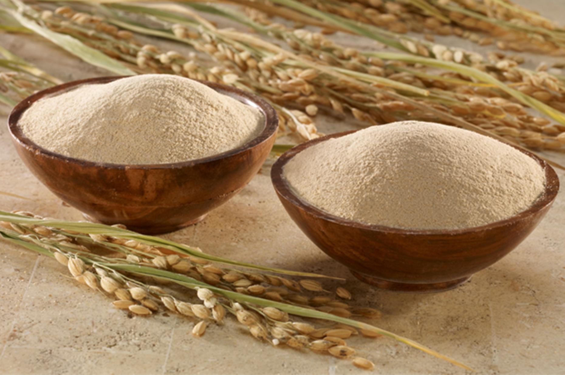 cara membuat tepung beras merah