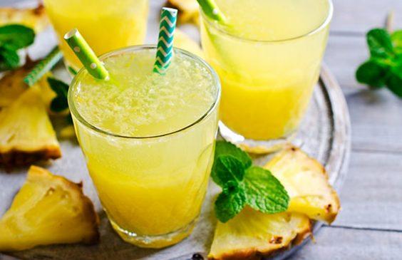 cara membuat jus nanas spesial