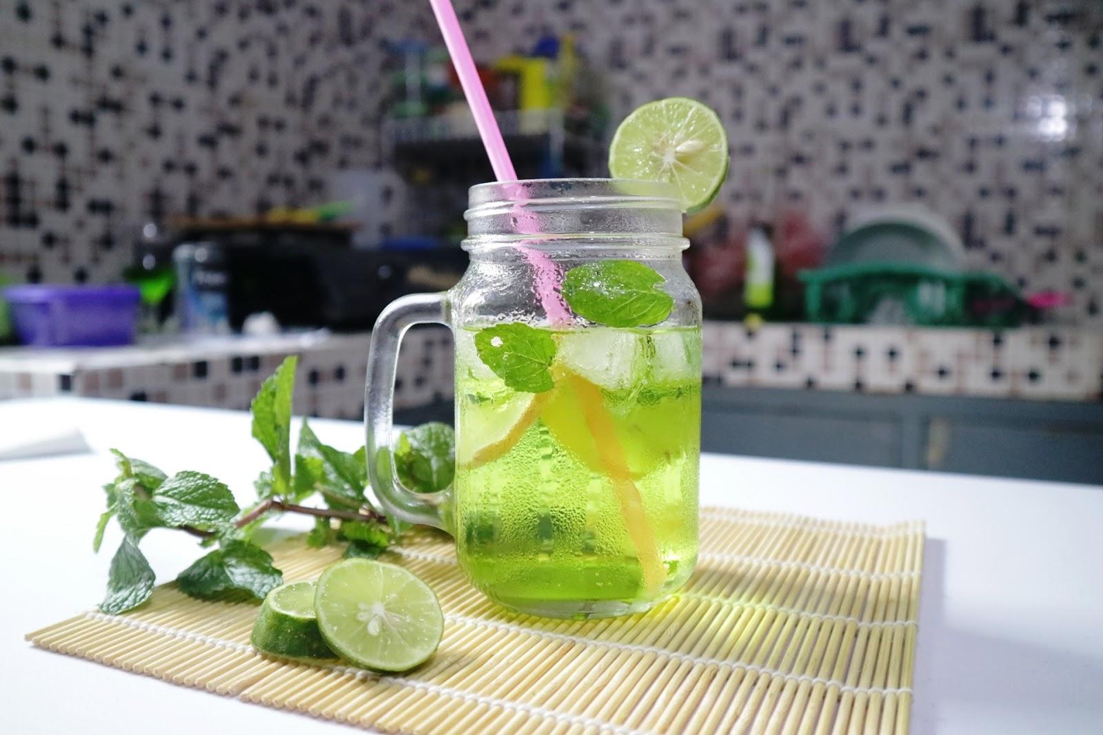 resep cara membuat lime squash