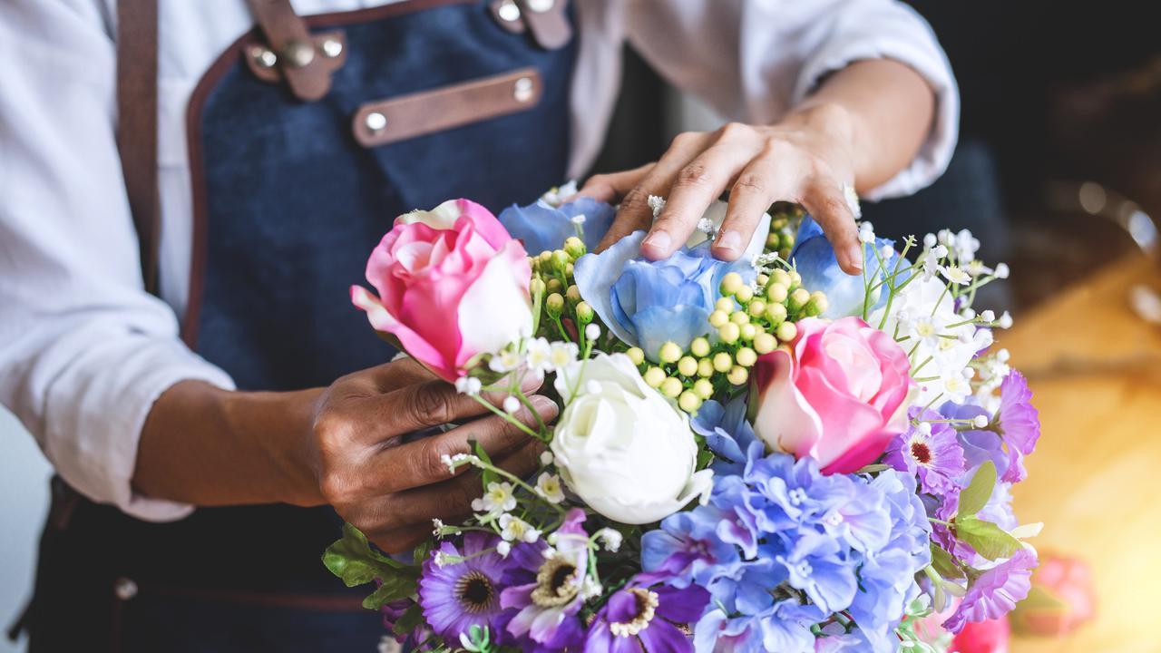 cara membuat bunga plastik
