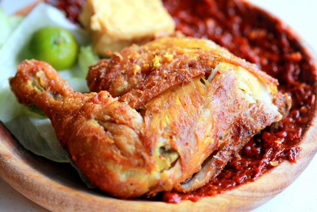 reserp membuat ayam penyet