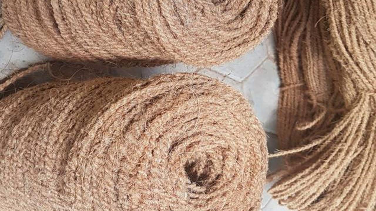 Proses Membuat Cocomesh Sabut Kelapa